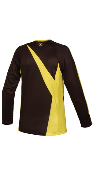 Endura MT500JR Maglietta ciclismo Bambini giallo/nero